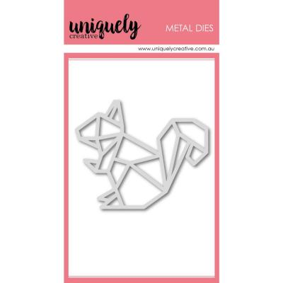 Uniquely Creative Metal Dies -  Geometric Squirrel