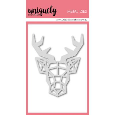 Uniquely Creative Metal Dies -  Geometric Deer