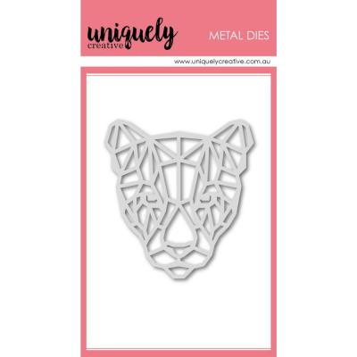 Uniquely Creative Metal Dies -  Geometric Big Cat
