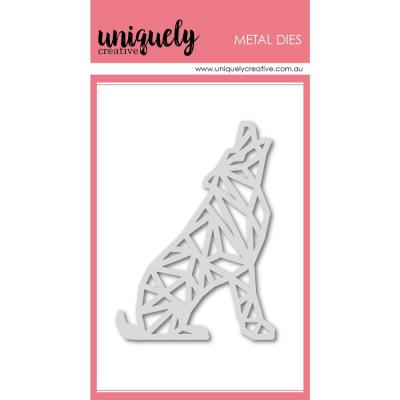 Uniquely Creative Metal Dies - Geometric Wolf
