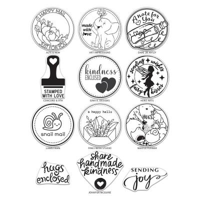 Hero Arts Cling Stamps - Mail Delivery