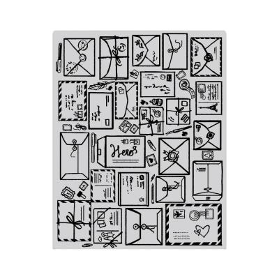 Hero Arts Cling Stamps - Mail Jumbo Background