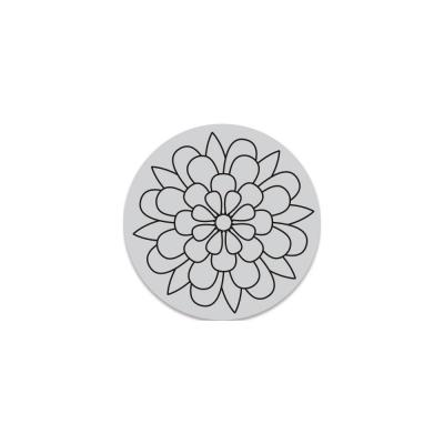 Hero Arts Cling Stamps - Outline Bloom