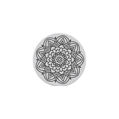 Hero Arts Cling Stamps -  Kaleidoscope Flower