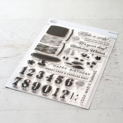 Pinkfresh Studio Clearstamps - Make A Wish