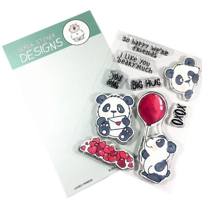 Gerda Steiner Clearstamps - Lovely Pandas