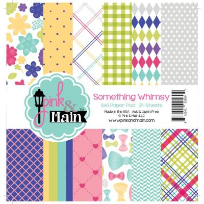 Pink & Main Paper Pad - Something Whimsy