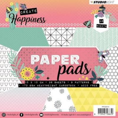 Studio Light Create Happiness - Paperpad Pink
