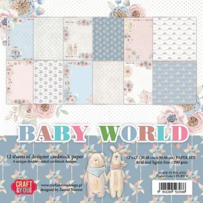 Craft&You Paper Pad - Baby World