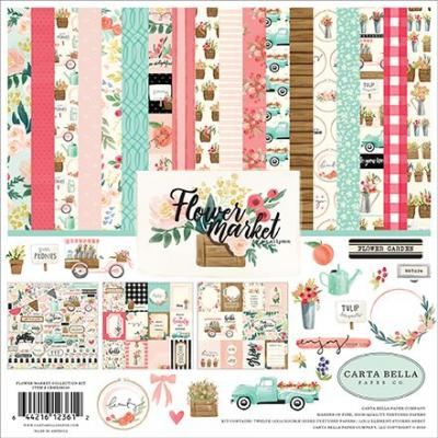 Carta Bella Flower Market -  Collection Kit