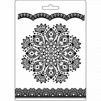 Stamperia Soft Maxi Mould - Doily Pattern