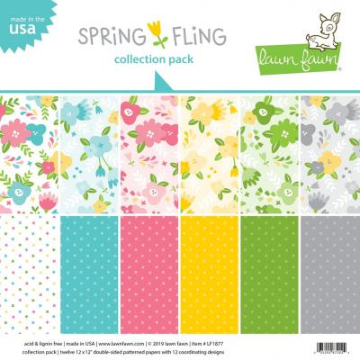 Lawn Fawn Collection Pack - Spring Fling