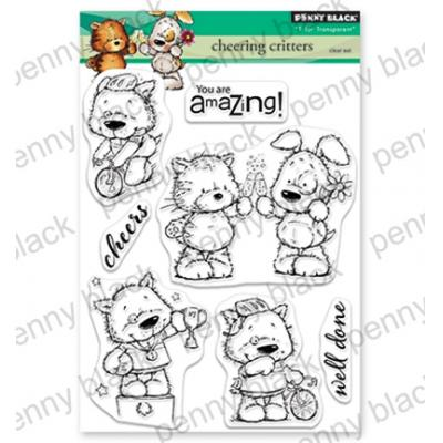 Penny Black Clear Stamps - Cheering Critters