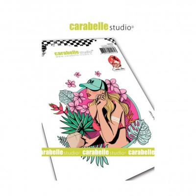 Carabelle Cling Stamp - Tropical