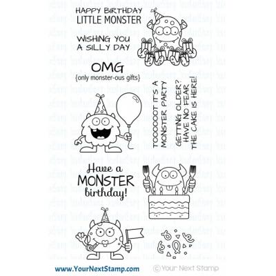 Your Next Stamp Clear Stamps - Silly Birthday Monsters