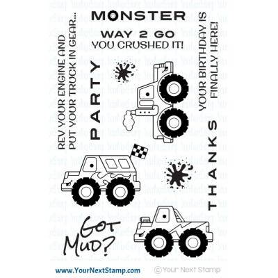 Your Next Stamp Clear Stamps - Got Mud
