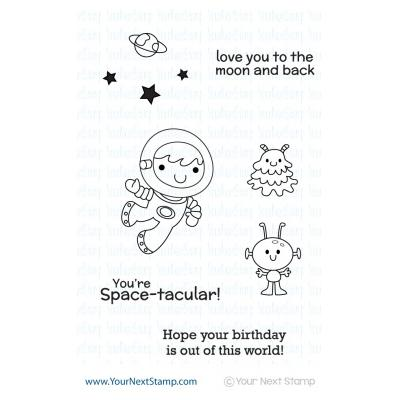 Your Next Stamp Clear Stamps - Space Boy