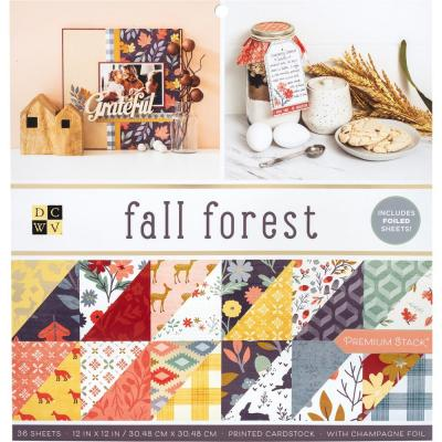 DCWV Fall Forest - Paper Pad