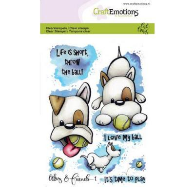 CraftEmotions Clear Stamps - Odey & Friends 1