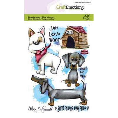 CraftEmotions Clear Stamps - Odey & Friends 3