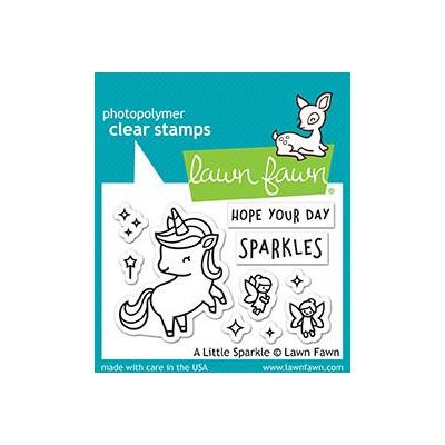 Lawn Fawn Clear Stamps - A Little Sparkle