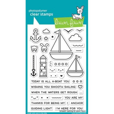 Lawn Fawn Clear Stamps - Smooth Sailing