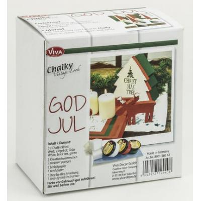 Viva Decor - Chalky God Jul Set