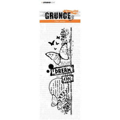 StudioLight Clear Stamps - Grunge - Schmetterlinge