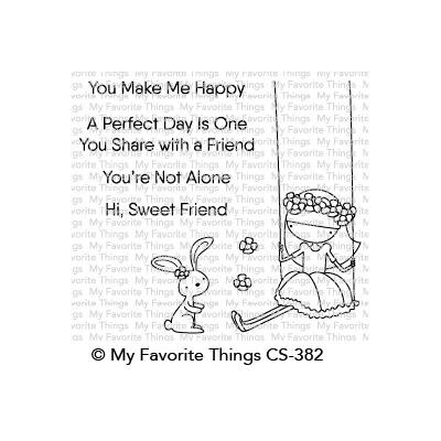 My Favorite Things Clear Stamps - Sweet Friends