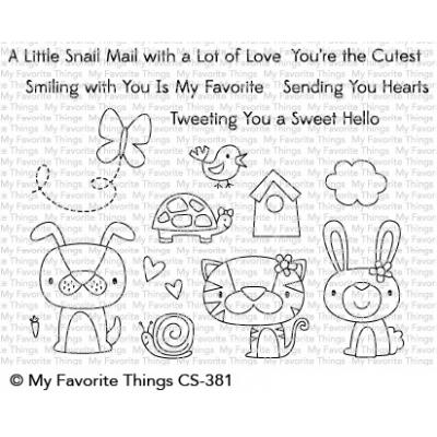 My Favorite Things Clear Stamps - Cute Critters