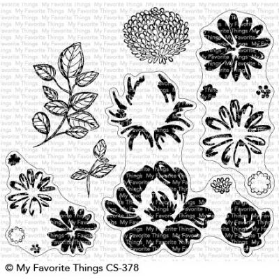 My Favorite Things Clear Stamps - Painted Petals