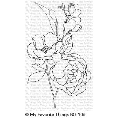 My Favorite Things Rubber Stamps - Fresh-Cut Flowers