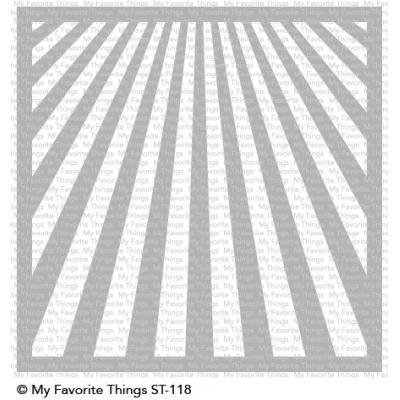 My Favorite Things -  Ray of Light Stencil
