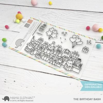 Mama Elephant Stempel - The Birthday Bash
