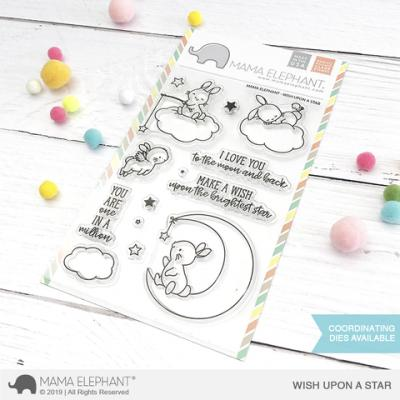 Mama Elephant Stempel - Wish Upon A Star