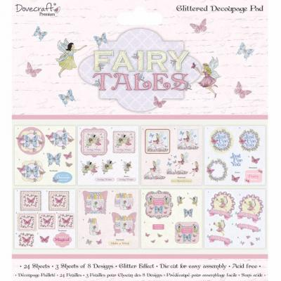 Dovecraft Fairy Tales - Decoupage Pad