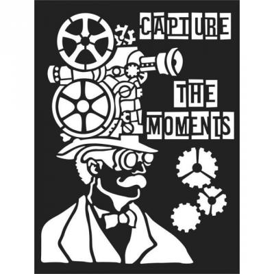Stamperia Thick Stencil - Capture the Moments