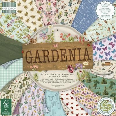First Edition Paper Pad  8x8 Inch - Gardenia