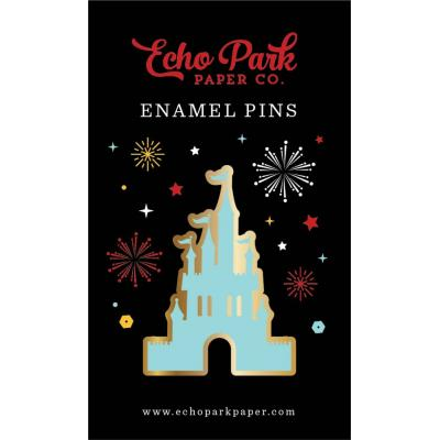 Echo Park Magical Castle Enamel Pin