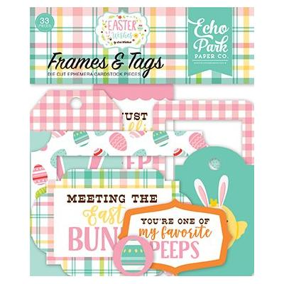 Echo Park Easter Wishes Frames & Tags