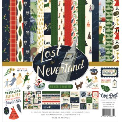 Echo Park Lost in Neverland - Collection Kit