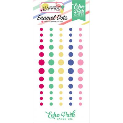 Echo Park Best Summer Ever - Enamel Dots