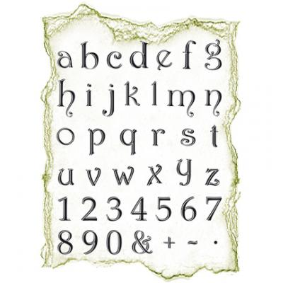 Viva Decor Clear Stamps - Kleines Alphabet