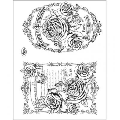 Viva Decor Clear Stamps - Fleurs de Printemps