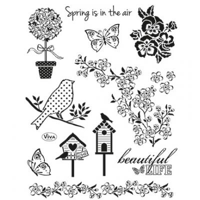 Viva Decor Clear Stamps - Fruhling