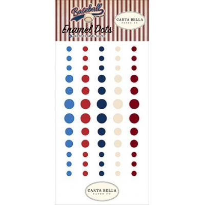 Carta Bella Baseball - Enamel Dots