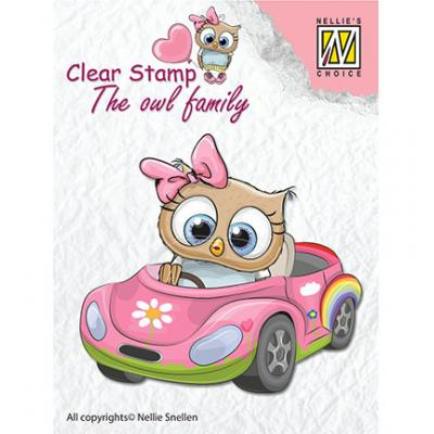 Nellies Choice Clear Stamp - Cars