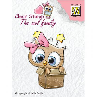 Nellies Choice Clear Stamp -  In the Box