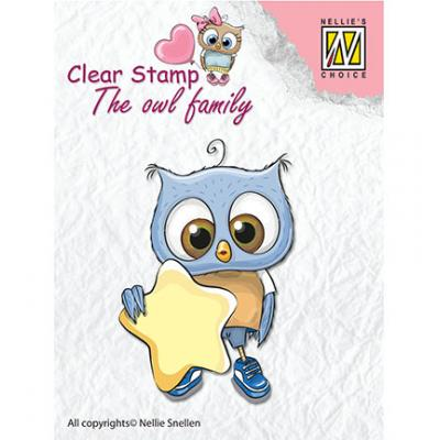 Nellies Choice Clear Stamp - Stars