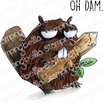 Stamping Bella Cling Stamps - Oddball Beaver